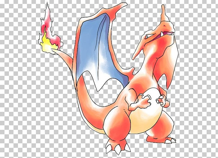 Charizard Art Design