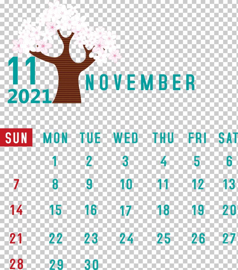 November 2021 Calendar November 2021 Printable Calendar PNG, Clipart, Geometry, Line, Logo, Mathematics, Meter Free PNG Download