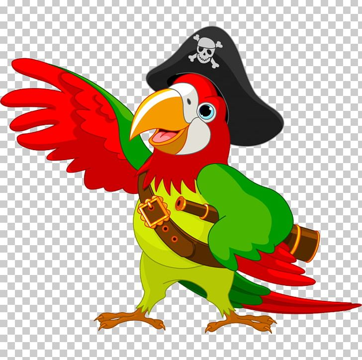 Pirate Parrot PNG, Clipart, Animal Figure, Animals, Art, Beak, Bird Free PNG Download