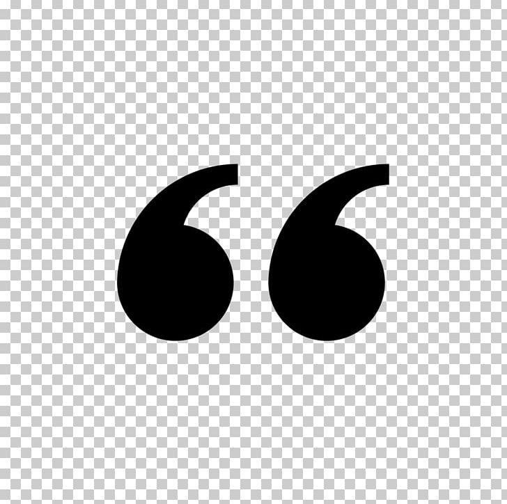Quotation Mark Computer Icons Pull Quote PNG, Clipart, Black, Black And White, Brand, Circle, Cleaning Free PNG Download