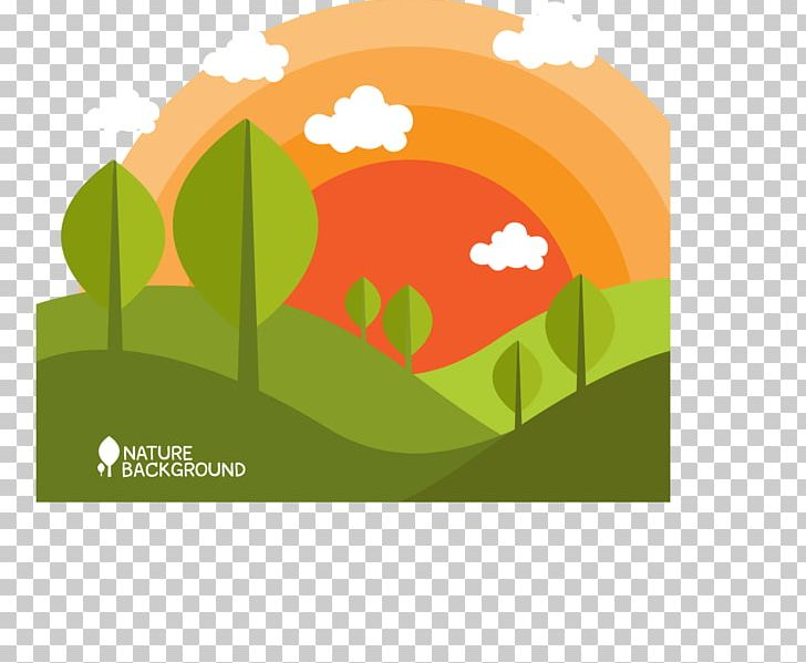 Cartoon Sunrise Illustration PNG, Clipart, Adobe Illustrator, Brand, Computer Wallpaper, Early Morning, Encapsulated Postscript Free PNG Download