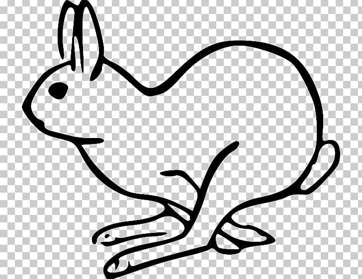 Rabbit Open Hare Holland Lop PNG, Clipart, Animals, Artwork, Black, Carnivoran, Cartoon Free PNG Download