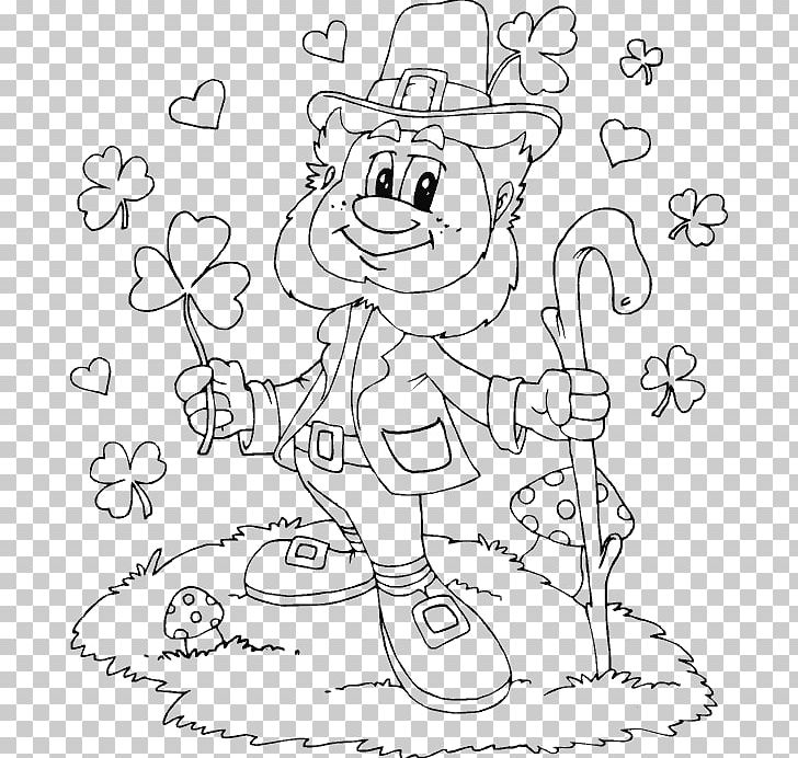 Leprechaun Coloring Book Princess Coloring Kids Racer Child Png Clipart Angle Area Cartoon Child Clover Free