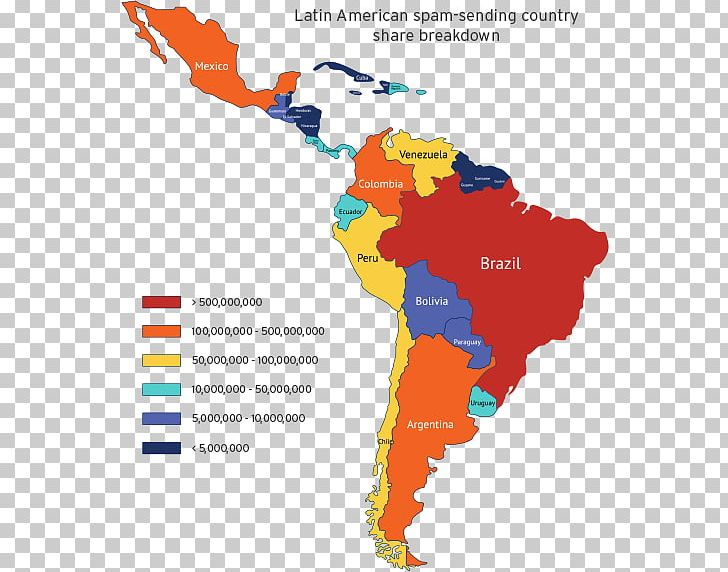 Latin America South America United States Caribbean Central ...