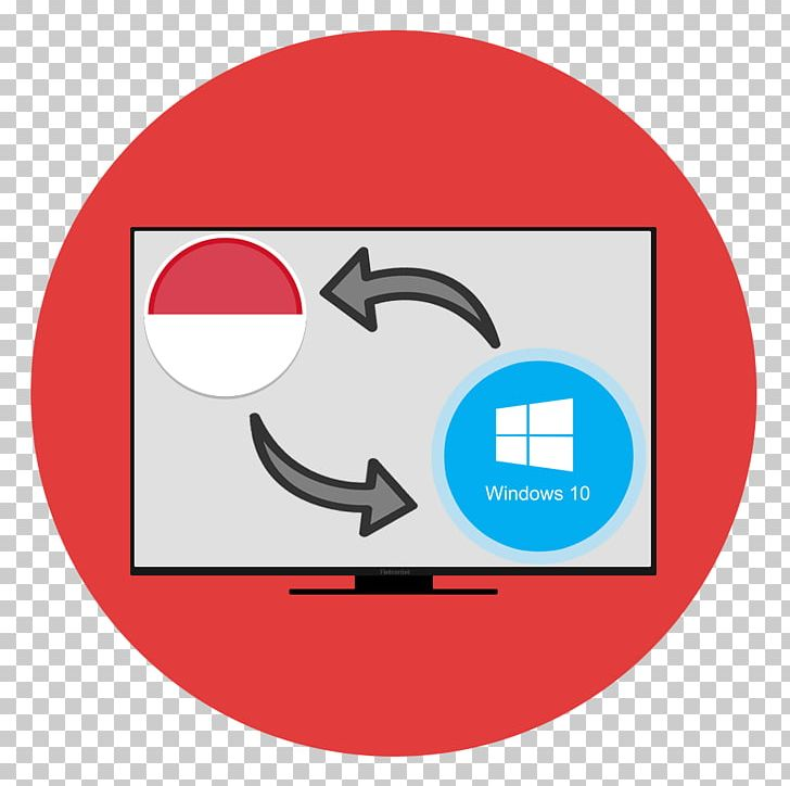 Language Interface Pack Indonesian Computer Icons Windows 10 PNG