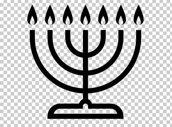 Menorah Judaism Hanukkah Symbol PNG, Clipart, Black And White, Candle Holder, Computer Icons, Emoji, Hanukkah Free PNG Download