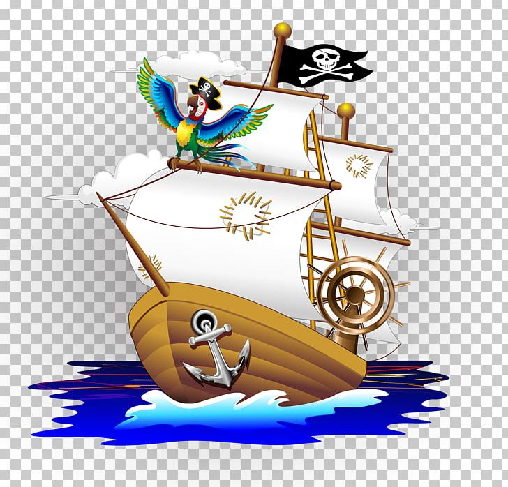 Parrot Piracy Cartoon Illustration PNG, Clipart, Anchor, Balloon Cartoon, Boy Cartoon, Cartoon, Cartoon Character Free PNG Download