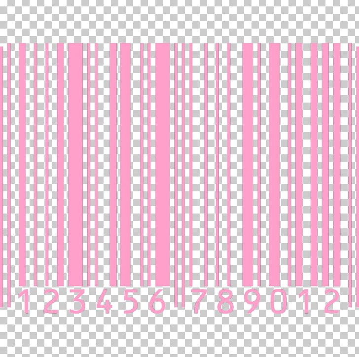Barcode colorful. High capacity color pink