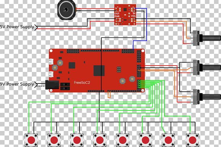 Electronic Component PSoC Potentiometer Electronics Analog