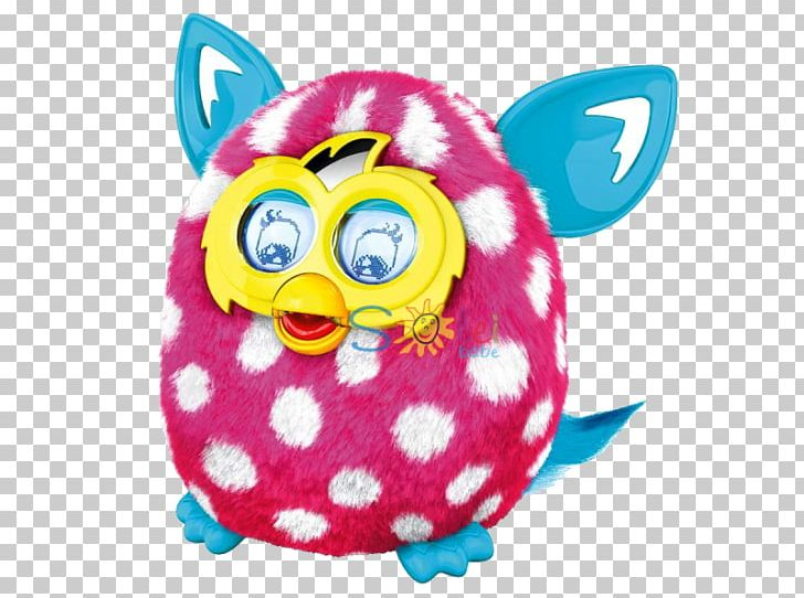 Furby BOOM! Stuffed Animals & Cuddly Toys Polka Dot PNG