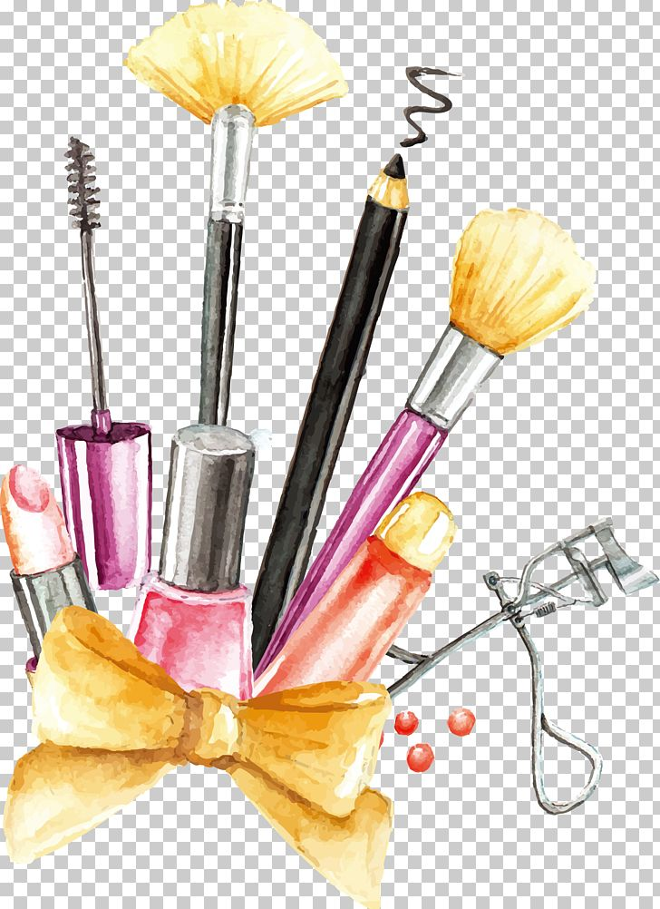 Cosmetics Makeup Brush PNG, Clipart, Brush, Cosme, Cosmetic, Foundation, Hand Painted Free PNG Download