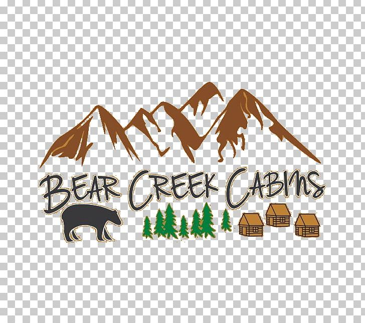 Bear Creek Cabins Accommodation Tourism Logo Crown King PNG, Clipart, Accommodation, Arizona, Bear, Brand, Cabin Free PNG Download