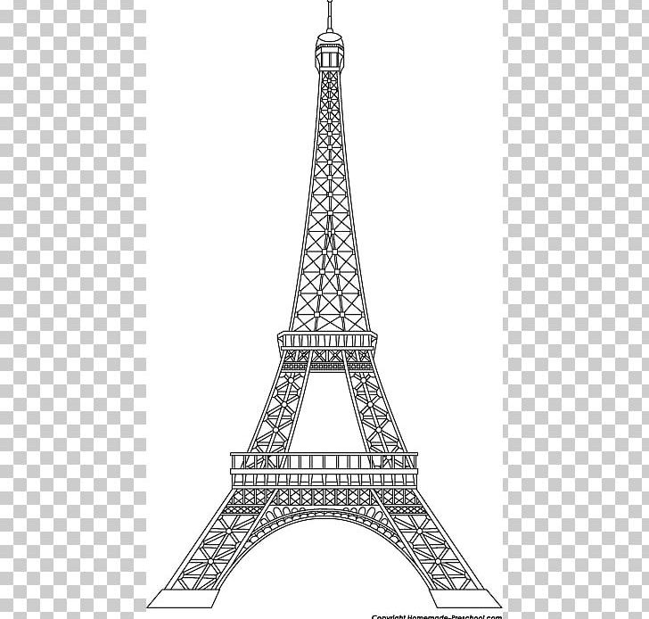 Eiffel Tower Png Clipart Art Art In Paris Black And White Clip Art Drawing Free Png
