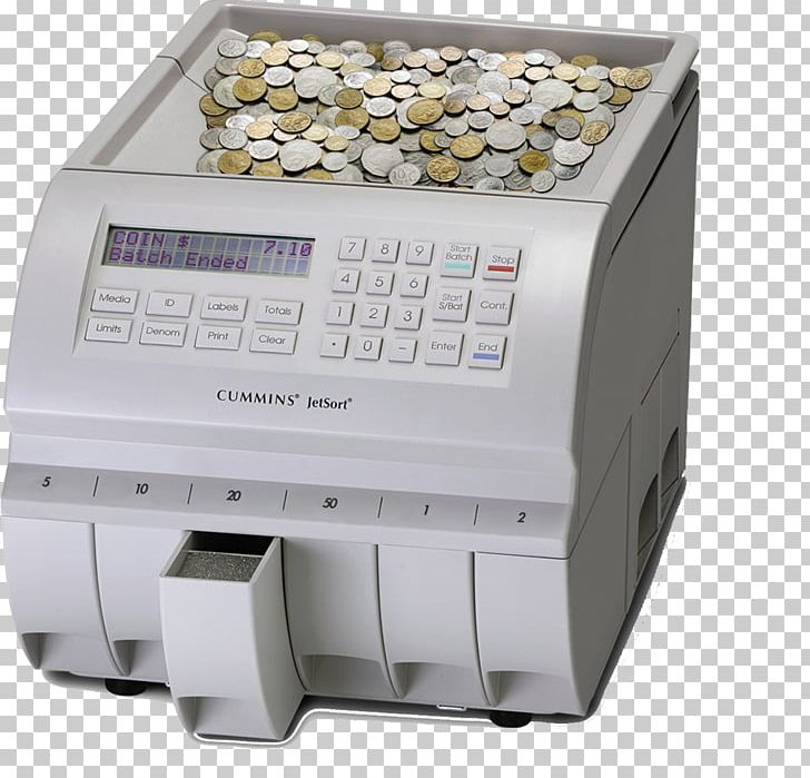 Coin Currency-counting Machine Counter Cummins Allison PNG