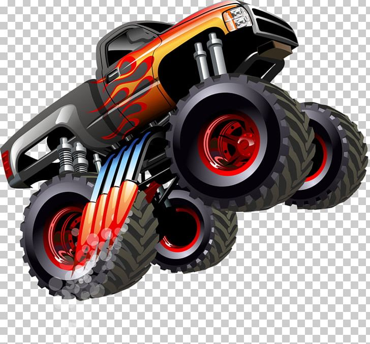 10 Monster Jam Coloring Pages To Print | 676x728