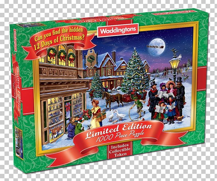 Christmas Jigsaw Puzzles.Jigsaw Puzzles Italy History Waddingtons Christmas Ornament
