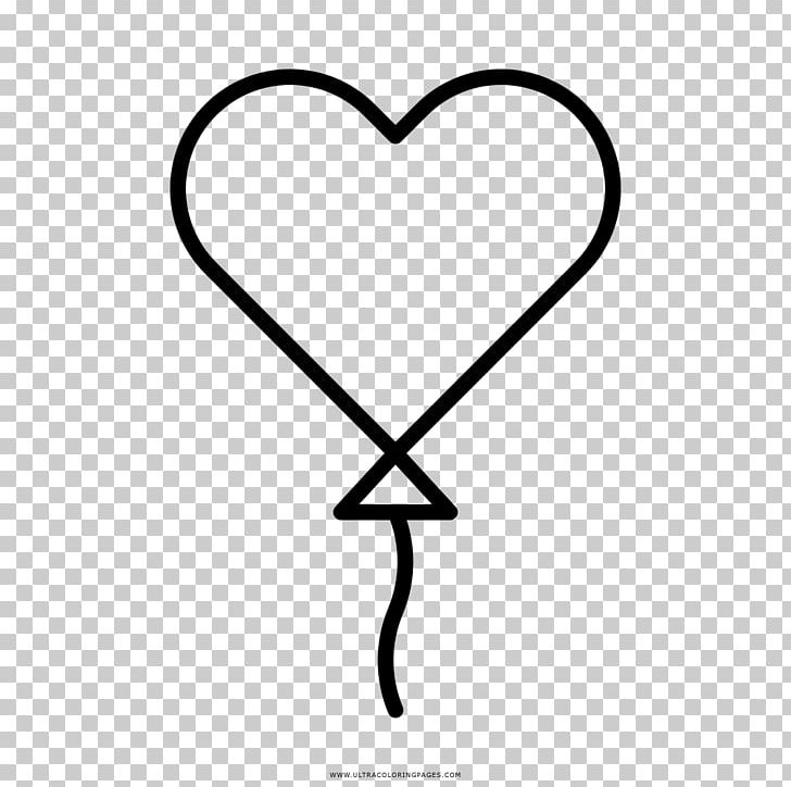 Coloring Book Heart Toy Balloon Drawing PNG, Clipart, Area ...