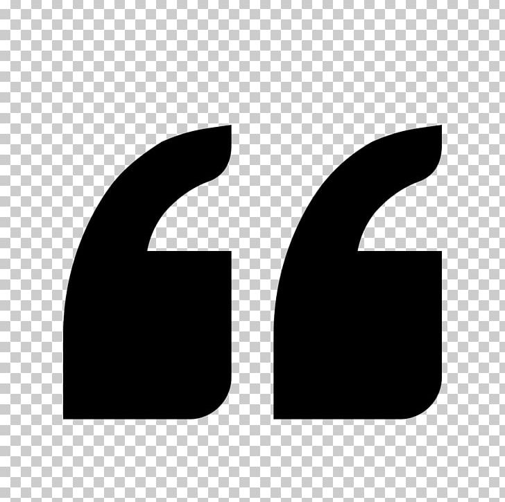 Quotation Mark Computer Icons Saying Block Quotation PNG, Clipart, Angle, Black, Black And White, Block Quotation, Citation Free PNG Download