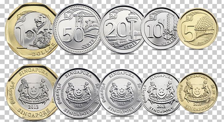 Singapore Dollar Coin Currency Exchange Rate PNG, Clipart