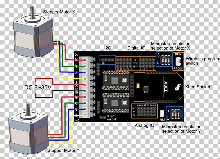 stepper motor arduino motor controller electric motor wiring