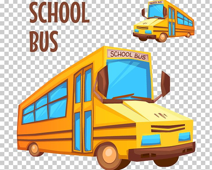 School Bus PNG, Clipart, Bus, Creative Design, Encapsulated Postscript, Happy Birthday Vector Images, Illustration Vector Free PNG Download