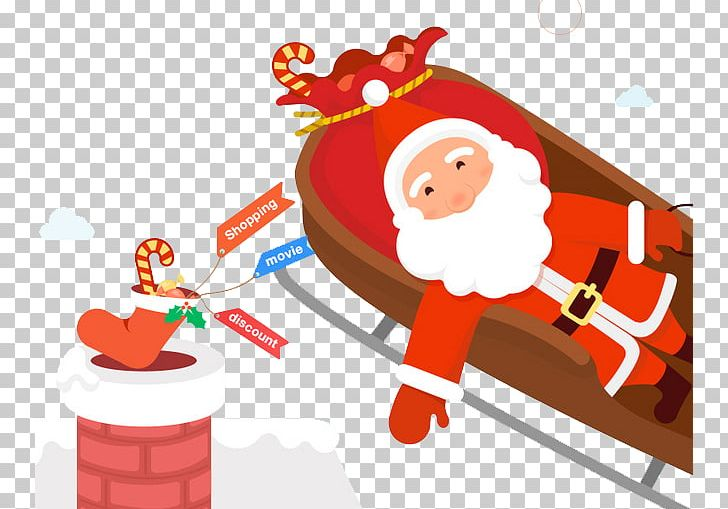 Fictional Character Encapsulated Postscript Santa Claus PNG, Clipart, Adobe Illustrator, Birth, Birth Day, Cartoon Elderly, Chimney Free PNG Download
