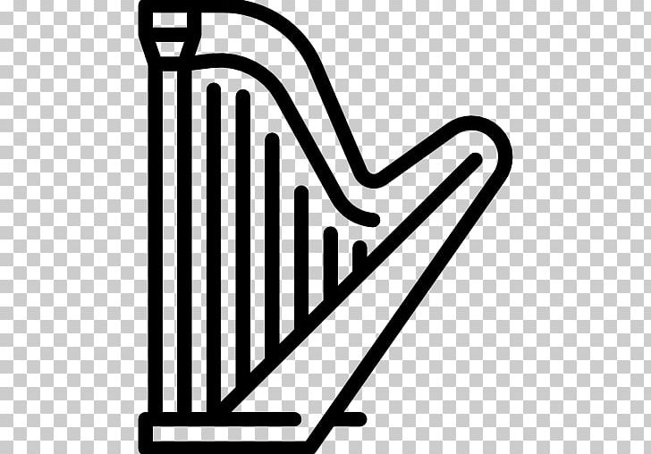 Harp Musical Instruments Cuatro String Instruments PNG, Clipart, Area, Arpa Llanera, Black And White, Brand, Computer Icons Free PNG Download