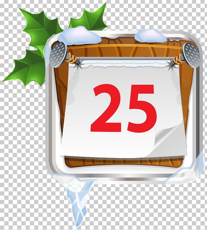 Advent december. Christmas tree calendars png