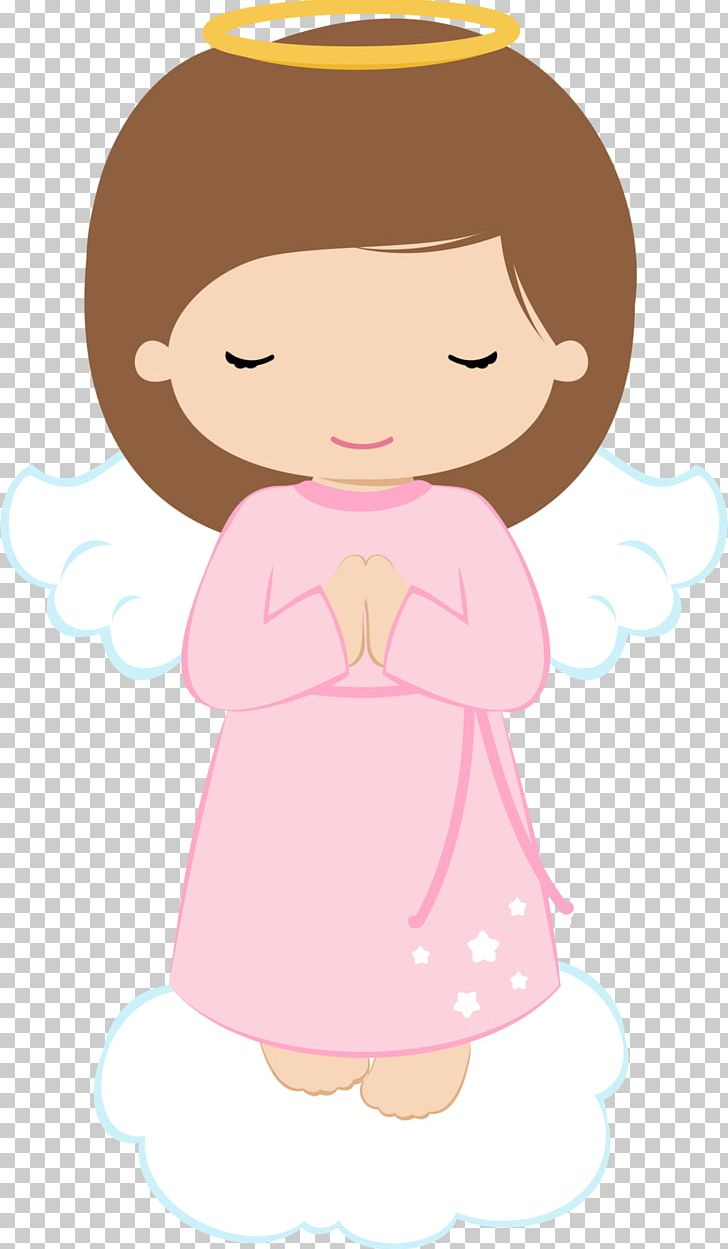 Angel baptism. First communion png clipart