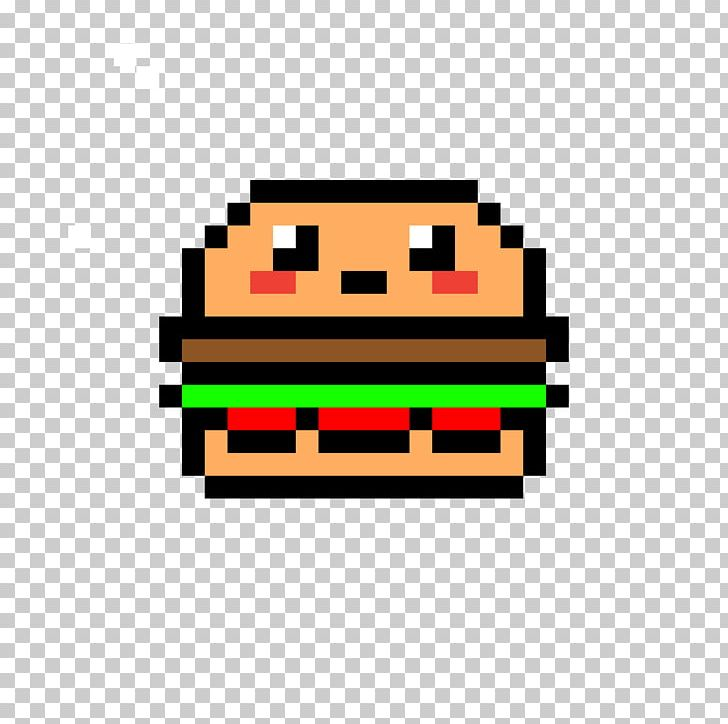 Minecraft Hamburger French Fries Pixel Art Drawing Png