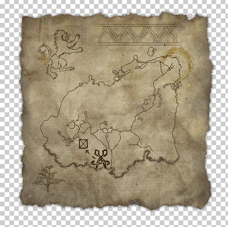 Skyrim Cloth Map on