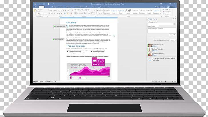 Laptop Microsoft Office 2016 Microsoft Word Microsoft Office