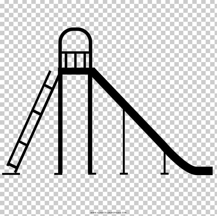 Playground Slide Drawing Coloring Book Game Png Clipart