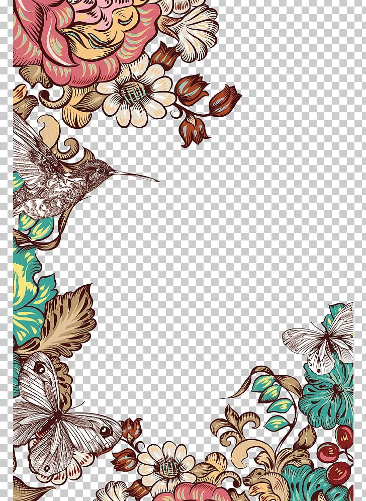 Butterfly Flower PNG, Clipart, Arte Corporal, Bird, Border, Border Texture, Design Free PNG Download