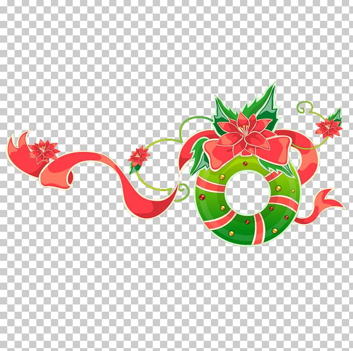 Christmas Xmas Garland Png Clipart Bow Bow Tie Cartoon