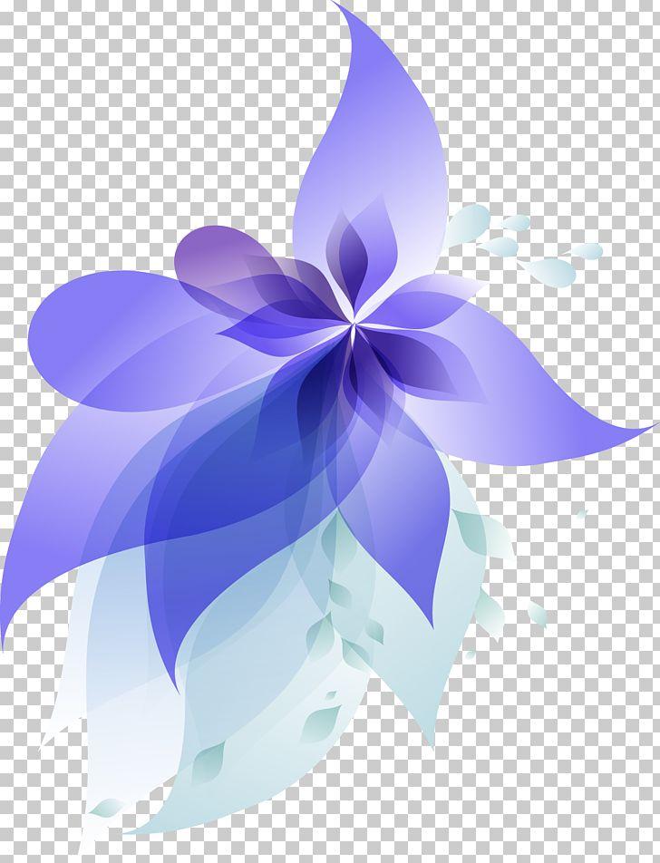 Blue Gradient Flowers PNG, Clipart, Blue, Blue Gradient, Color Gradient, Computer Wallpaper, Desktop Wallpaper Free PNG Download