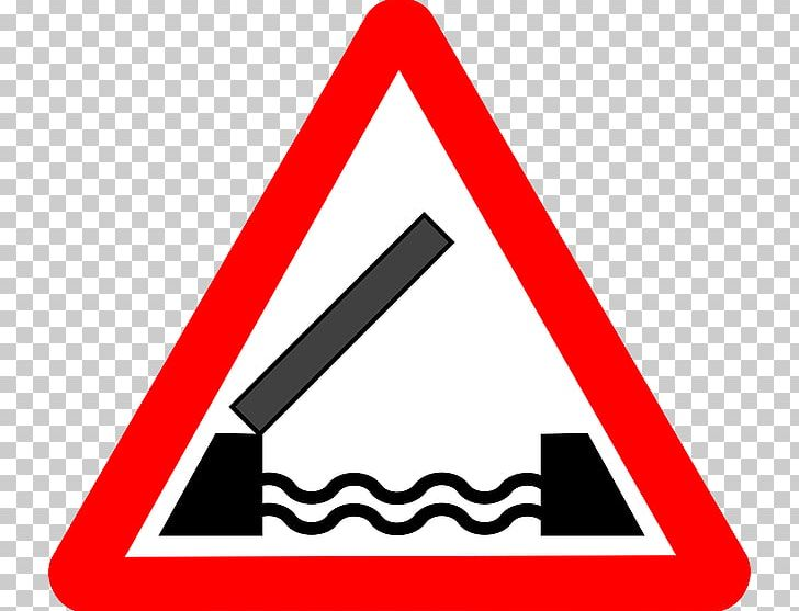 Traffic Sign Moveable Bridge Warning Sign Road PNG, Clipart, Angle