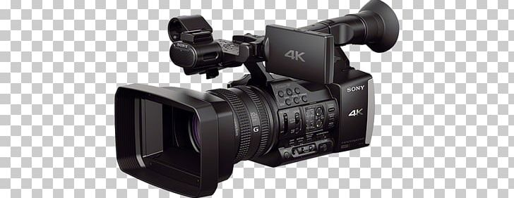 Sony Handycam FDR-AX1 4K Resolution Video Cameras Professional Video Camera PNG, Clipart, 4k Resolution, 1080p, Angle, Cam, Camera Lens Free PNG Download