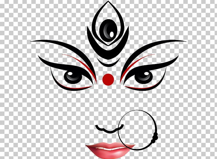 Durga Puja Ganesha Drawing Devi Png Clipart Art Artwork Black Black And White Cat Free Png
