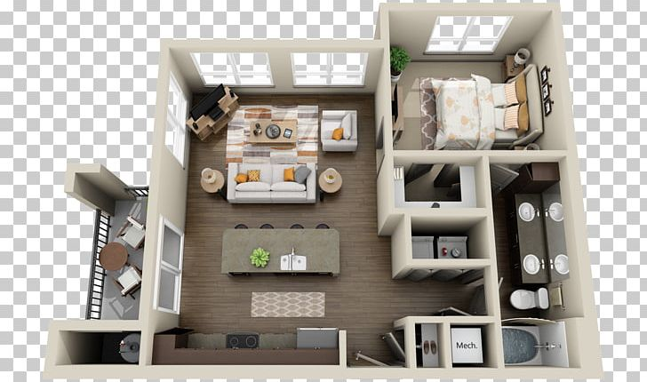 Apartment 3D Floor Plan House Plan PNG, Clipart, 3d Floor ...