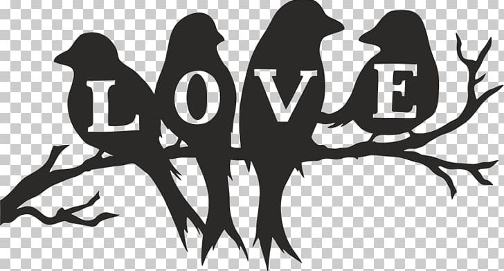 Silhouette Stencil Love Bird PNG, Clipart, Animals, Art, Bird, Birds