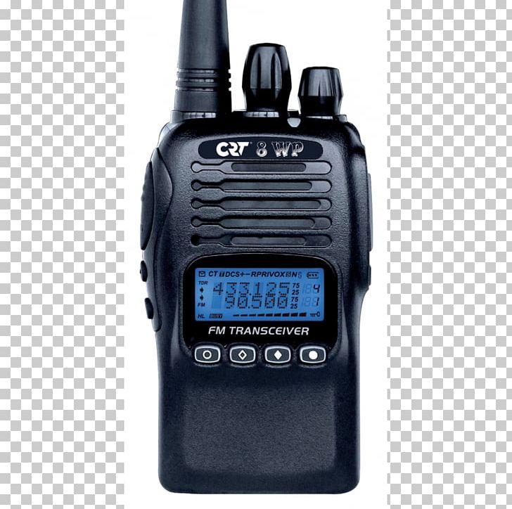 Marine VHF Radio PMR446 Walkie-talkie Two-way Radio Citizens Band Radio PNG, Clipart, Aerials, Bandes Marines, Citizens Band Radio, Communication, Crt Free PNG Download