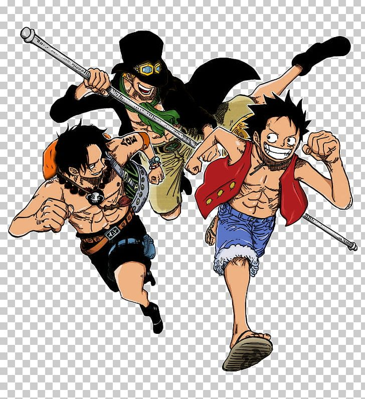 Monkey D  Luffy Portgas D  Ace Nami One Piece Sabo PNG