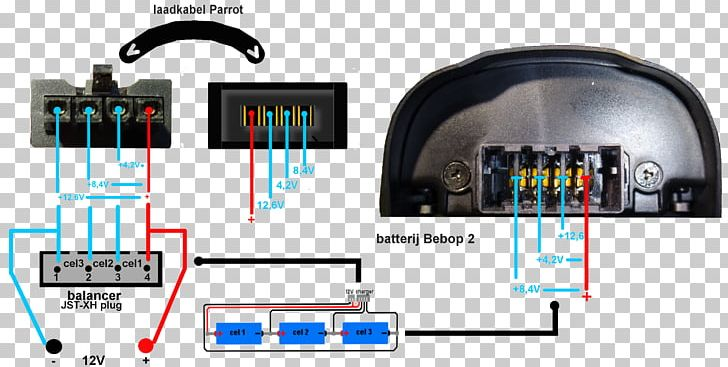 Parrot Bebop 2 Parrot Bebop Drone Battery Charger Unmanned Aerial Vehicle PNG, Clipart, Battery, Battery Charger, Battery Pack, Battery Terminal, Circuit Diagram Free PNG Download