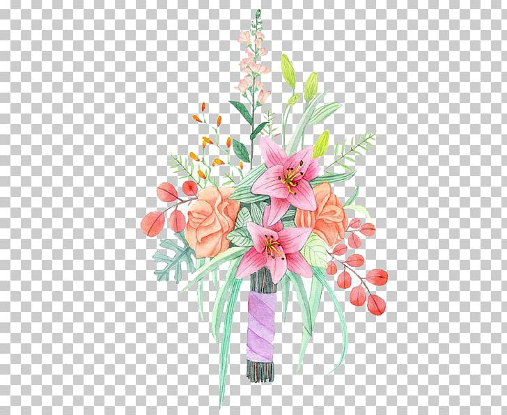 Watercolor: Flowers Watercolor Painting Flower Bouquet PNG, Clipart, Artificial Flower, Bouquet, Bride, Cartoon, Color Free PNG Download