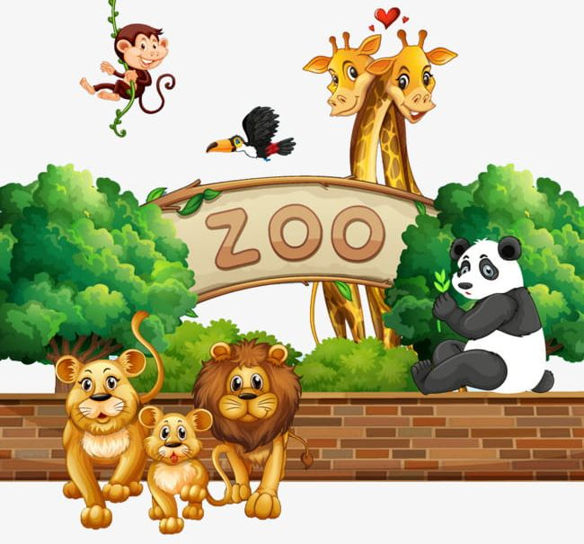 Image result for zoos clipart