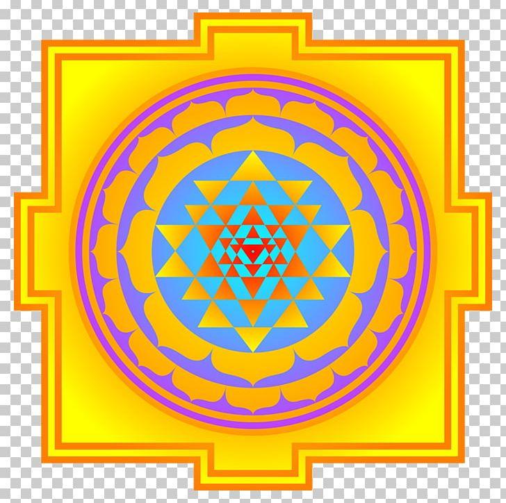 Lakshmi Ganesha Sri Yantra PNG, Clipart, Area, Chakra