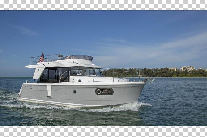 Boat Fishing Trawler Boisvert Marine Beneteau Pocket Cruiser PNG