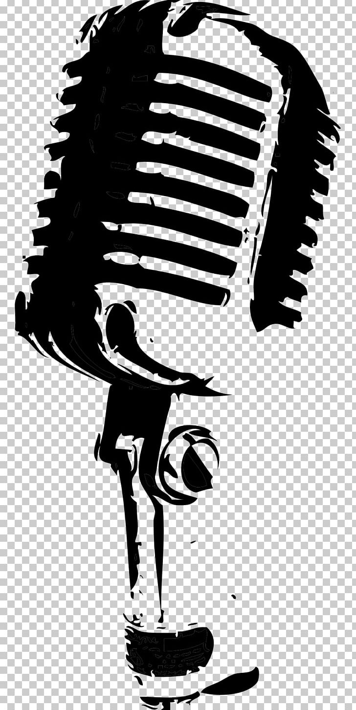 Microphone Drawing Black And White PNG, Clipart, Art, Audio, Audio Equipment, Black And White, Clip Art Free PNG Download