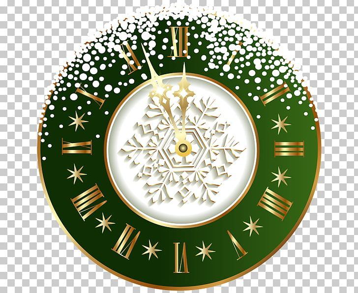 New Year's Day Wish New Year's Eve Christmas PNG, Clipart, Christmas, Christmas Ornament, Circle, Clock, Decor Free PNG Download